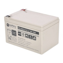 12V 12Ah Batteria Piombo-Acido ciclica, battery-direct CYC-AGM-12-12, 151x98x94 (LxLAxA), Terminale T2 Faston 250 (6,3mm)