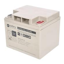 12V 40Ah Batteria Piombo-Acido ciclica, battery-direct CYC-AGM-12-40, 197x165x171 (LxLAxA), Terminale I2 (inserisci femmina M6)
