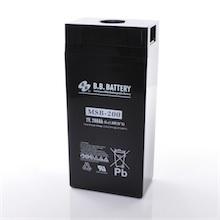 2V 300Ah Batteria, Batteria Piombo-Acido (AGM), B.B. Battery MSB-300, 171x151x358 (LxLAxA), Terminale B6 (vite M8)
