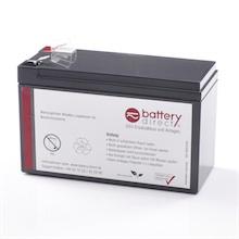 Batteria per APC Back UPS 650/700/800 sostituisce APC RBC17
