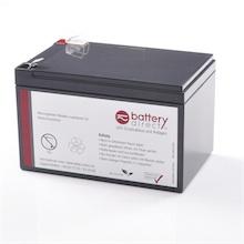 Batteria per APC Smart UPS 620 & APC Back UPS 650 sostituisce APC RBC4