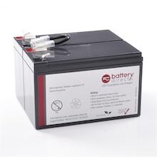 Batteria per APC Back UPS 600 sostituisce APC RBC3