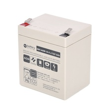 12V 5Ah Batteria Piombo-Acido, battery-direct SBY-AGM-12-5, 90x70x101 (LxLAxA), Terminale T2 Faston 250 (6,3mm)