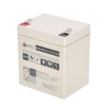 12V 5.5Ah Batteria Piombo-Acido, battery-direct SBYH-AGM-12-5.5, 90x70x101 (LxLAxA), Terminale T2 Faston 250 (6,3mm)