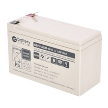 12V 9Ah Batteria Piombo-Acido, battery-direct SBYH-AGM-12-9, 151x65x94 (LxLAxA), Terminale T2 Faston 250 (6,3mm)