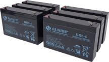 Batteria per Eaton-Powerware PW5115 1500VA