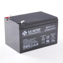12V 12Ah Batteria, Batteria Piombo-Acido (AGM), B.B. Battery BP12-12, VdS, 151x98x94 (LxLAxA), Terminale T2 Faston 250 (6,3 mm)