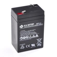 6V 5Ah Batteria, Batteria Piombo-Acido (AGM), B.B. Battery BP5-6, 70x48x102 (LxLAxA), Terminale T1 Faston 187 (4,75 mm)