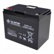 12V 80Ah Batteria, Batteria Piombo-Acido (AGM), B.B. Battery EB80-12, 260x168x209 (LxLAxA), Terminale I2 (inserisci femmina M6)