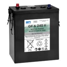 Sonnenschein GF 6 240 V Batteria Gel 6V 240Ah