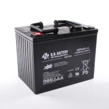 12V 80Ah Batteria, Batteria Piombo-Acido (AGM), B.B. Battery MPL80-12 H, 261x173x200 (LxLAxA), Terminale I2 (inserisci femmina M6)