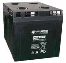 2V 1500Ah Batteria, Batteria Piombo-Acido (AGM), B.B. Battery MSB-1500, 400x350x369 (LxLAxA), Terminale B6 (vite M8)