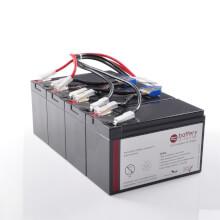 Batteria per APC Smart UPS XL 1400 sostituisce APC RBC25