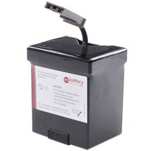 Batteria per APC Back UPS ES 500 sostituisce APC RBC30