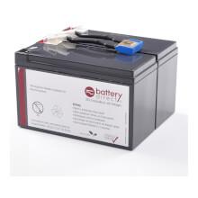 Batteria per APC Smart UPS 700 sostituisce APC RBC9